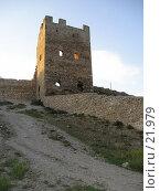 Купить «Крепость в Феодосии», фото № 21979, снято 29 сентября 2005 г. (c) Светлана / Фотобанк Лори