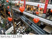 Купить «Интерьер крупного торгового центра», фото № 22599, снято 8 марта 2007 г. (c) Юрий Синицын / Фотобанк Лори