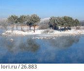 Купить «Вид на реку Исеть при въезде в Арамиль», фото № 26883, снято 12 марта 2007 г. (c) Филипп Яндашевский / Фотобанк Лори
