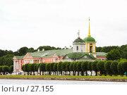 Купить «Усадьба Кусково», эксклюзивное фото № 27155, снято 1 июля 2006 г. (c) Ирина Мойсеева / Фотобанк Лори