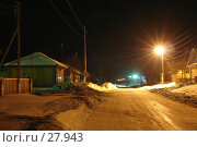 Купить «Ночное освещение улицы», фото № 27943, снято 24 сентября 2018 г. (c) Александр Тараканов / Фотобанк Лори