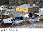 Купить «Деревянная провинция», фото № 27947, снято 10 февраля 2007 г. (c) Александр Тараканов / Фотобанк Лори