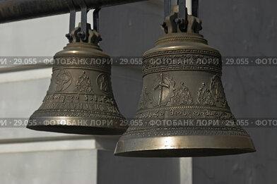 Купить «Церковные колокола», фото № 29055, снято 24 марта 2007 г. (c) Ольга Шаран / Фотобанк Лори