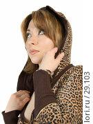 Купить «Девушка, смотрящая вверх», фото № 29103, снято 24 марта 2007 г. (c) Вадим Пономаренко / Фотобанк Лори