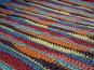 Разноцветный полосатый узор, связанный крючком, фото № 32923, снято 14 апреля 2007 г. (c) Julia Nelson / Фотобанк Лори