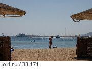 Купить «Пляж», фото № 33171, снято 10 февраля 2007 г. (c) Golden_Tulip / Фотобанк Лори