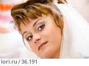 Свадебный макияж. Стоковое фото, фотограф Саломатов Александр Николаевич / Фотобанк Лори
