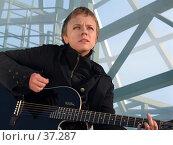 Купить «Певица Лена Перова», фото № 37287, снято 18 марта 2006 г. (c) Сергей Лаврентьев / Фотобанк Лори
