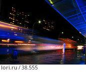 На автобусной остановке. Волгодонск, улица Строителей (2004 год). Стоковое фото, фотограф A Челмодеев / Фотобанк Лори