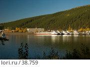 Купить «Речной флот на реке Лене в городе Киренске», фото № 38759, снято 18 сентября 2006 г. (c) Саломатов Александр Николаевич / Фотобанк Лори