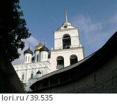 Купить «Псков, кремль», фото № 39535, снято 19 сентября 2006 г. (c) A Челмодеев / Фотобанк Лори