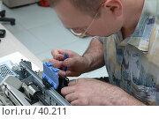 Ремонт струйного принтера. Стоковое фото, фотограф Саломатов Александр Николаевич / Фотобанк Лори