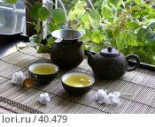 Купить «Китайская чайная церемония», фото № 40479, снято 17 мая 2005 г. (c) Татьяна Белова / Фотобанк Лори