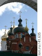 Купить «Храмы Богоявленского монастыря, Кострома», фото № 41635, снято 12 августа 2006 г. (c) Vladimir Fedoroff / Фотобанк Лори