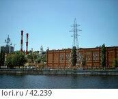 Купить «Воронеж. Котельная станция», фото № 42239, снято 5 июня 2004 г. (c) Дмитрий Сарычев / Фотобанк Лори