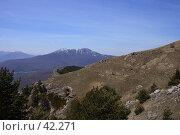 Купить «Тропа вдоль склона Северного Демерджи», фото № 42271, снято 5 мая 2007 г. (c) Михаил Баевский / Фотобанк Лори