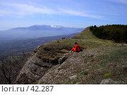 Купить «На обрывах Северного Демерджи», фото № 42287, снято 5 мая 2007 г. (c) Михаил Баевский / Фотобанк Лори