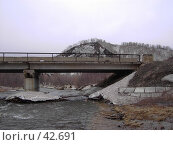Купить «Мост в горах», фото № 42691, снято 12 мая 2007 г. (c) Maxim Kamchatka / Фотобанк Лори