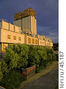 Купить «Здание Академии Наук», фото № 45187, снято 7 августа 2006 г. (c) Юрий Соколов / Фотобанк Лори