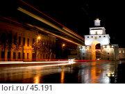 Купить «Золотые ворота, Владимир», фото № 45191, снято 19 октября 2004 г. (c) Alex / Фотобанк Лори