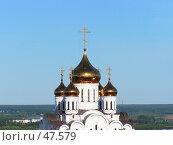Храм в Сыктывкаре. Стоковое фото, фотограф Вячеслав Осокин / Фотобанк Лори