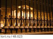 Купить «Санкт-Петербург, Михайловский дворец», фото № 48023, снято 17 декабря 2005 г. (c) Александр Секретарев / Фотобанк Лори