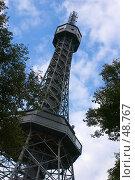 Купить «Прага. Копия Эйфелевой башни.», фото № 48767, снято 11 августа 2005 г. (c) Сергей Байков / Фотобанк Лори