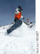 Купить «Сноуборд в движении», фото № 49687, снято 2 марта 2007 г. (c) Фадеева Марина / Фотобанк Лори