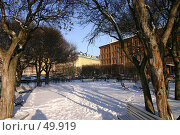 Купить «Санкт-Петербург, Исаакиевская площадь», фото № 49919, снято 4 февраля 2005 г. (c) Александр Секретарев / Фотобанк Лори