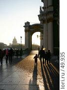 Купить «Санкт-Петербург, Дворцовая площадь, Зимний дворец», фото № 49935, снято 11 февраля 2006 г. (c) Александр Секретарев / Фотобанк Лори