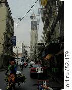 Бангкок, улица. Редакционное фото, фотограф Борис Никитин / Фотобанк Лори