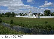 Купить «Суздаль. Покровский монастырь на берегу реки Каменки», фото № 52767, снято 11 июня 2007 г. (c) Julia Nelson / Фотобанк Лори