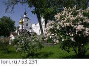 Купить «Дмитров. Борисоглебский монастырь. Весна», фото № 53231, снято 27 мая 2007 г. (c) Julia Nelson / Фотобанк Лори