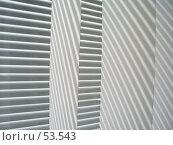 Купить «Геометрия окна (Жалюзи и тень )», фото № 53543, снято 17 апреля 2006 г. (c) Галина  Горбунова / Фотобанк Лори