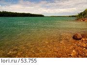 Купить «McArthur River. Устье реки», фото № 53755, снято 4 июля 2007 г. (c) Eleanor Wilks / Фотобанк Лори