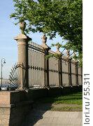 Купить «Санкт-Петербург. Решетка Летнего сада», фото № 55311, снято 4 июня 2007 г. (c) Александр Секретарев / Фотобанк Лори