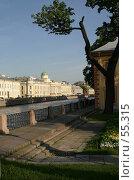 Купить «Санкт-Петербург, Вид на реку Фонтанку со стороны Летнего сада», фото № 55315, снято 4 июня 2007 г. (c) Александр Секретарев / Фотобанк Лори