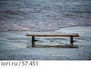 Купить «Скамейка у моря», фото № 57451, снято 3 января 2007 г. (c) Морозова Татьяна / Фотобанк Лори