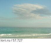 Купить «Морской пейзаж», фото № 57727, снято 10 апреля 2006 г. (c) Екатерина Овсянникова / Фотобанк Лори