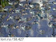 Купить «Бокалы», фото № 58427, снято 6 июня 2007 г. (c) Михаил Браво / Фотобанк Лори