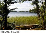 Купить «Вид на разлив Вуоксы в районе Синёво», фото № 59255, снято 28 июня 2007 г. (c) Старкова Ольга / Фотобанк Лори