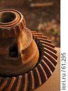 Купить «Ржавая деталь», фото № 61295, снято 18 декабря 2006 г. (c) Eleanor Wilks / Фотобанк Лори