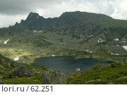 Купить «Горное озеро», фото № 62251, снято 14 июля 2007 г. (c) Форис Алексей / Фотобанк Лори