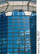 Купить «Небесное отражение,офисное здание», фото № 62767, снято 21 мая 2007 г. (c) Александр Fanfo / Фотобанк Лори