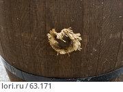 Купить «Затычка в бочке», фото № 63171, снято 21 июня 2007 г. (c) Юрий Синицын / Фотобанк Лори