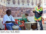 Купить «Трио этнической музыки», фото № 63403, снято 31 мая 2007 г. (c) Ivan I. Karpovich / Фотобанк Лори