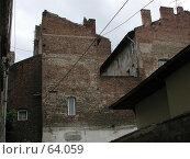 Район старой застройки исторического центра Софии, Болгария (2004 год). Стоковое фото, фотограф Harry / Фотобанк Лори