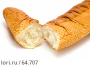 Купить «Французский хлеб», фото № 64707, снято 22 февраля 2019 г. (c) Угоренков Александр / Фотобанк Лори