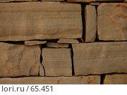 Купить «Каменная кладка», фото № 65451, снято 10 июля 2007 г. (c) Golden_Tulip / Фотобанк Лори