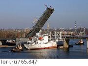 Купить «Мост через реку Ингул, Николаев, Украина», фото № 65847, снято 29 февраля 2004 г. (c) Дмитрий Лукин / Фотобанк Лори